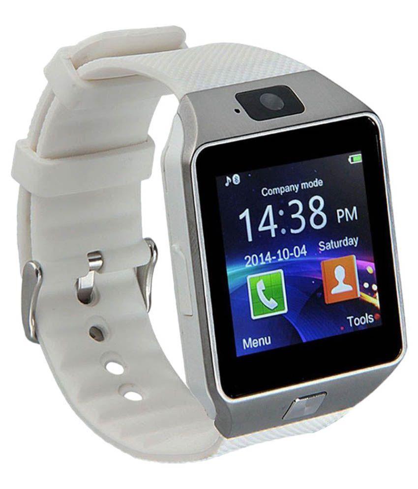 Shan bt dz09 Smart Watches White