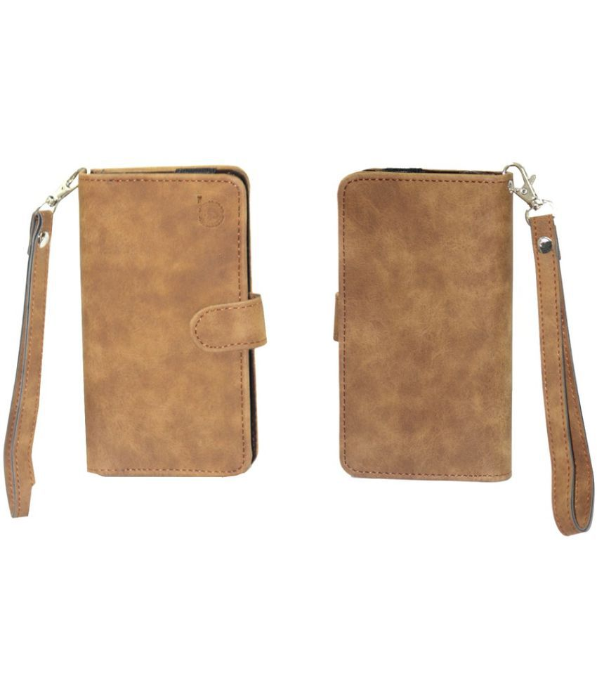 Xolo A700 Holster Cover by Jojo - Brown