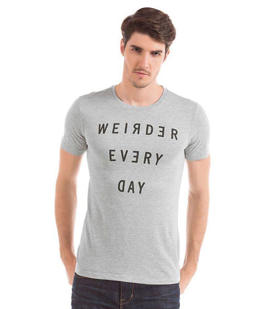 Eposch Grey Round T-Shirt