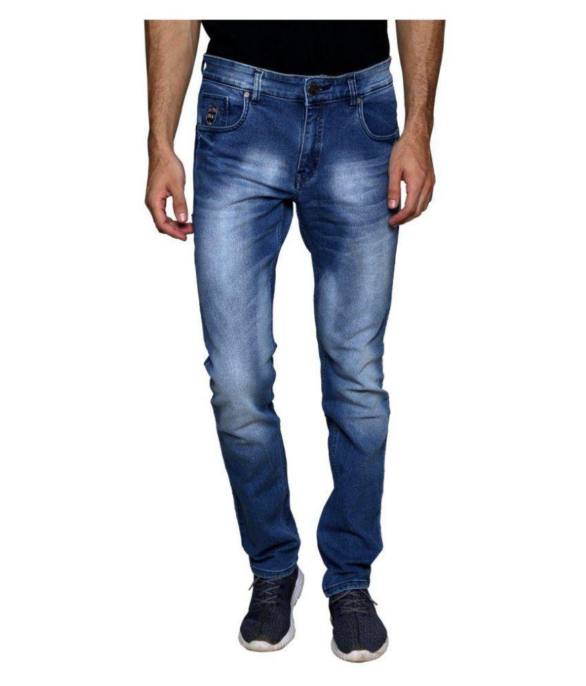 SuperX Blue Slim Solid