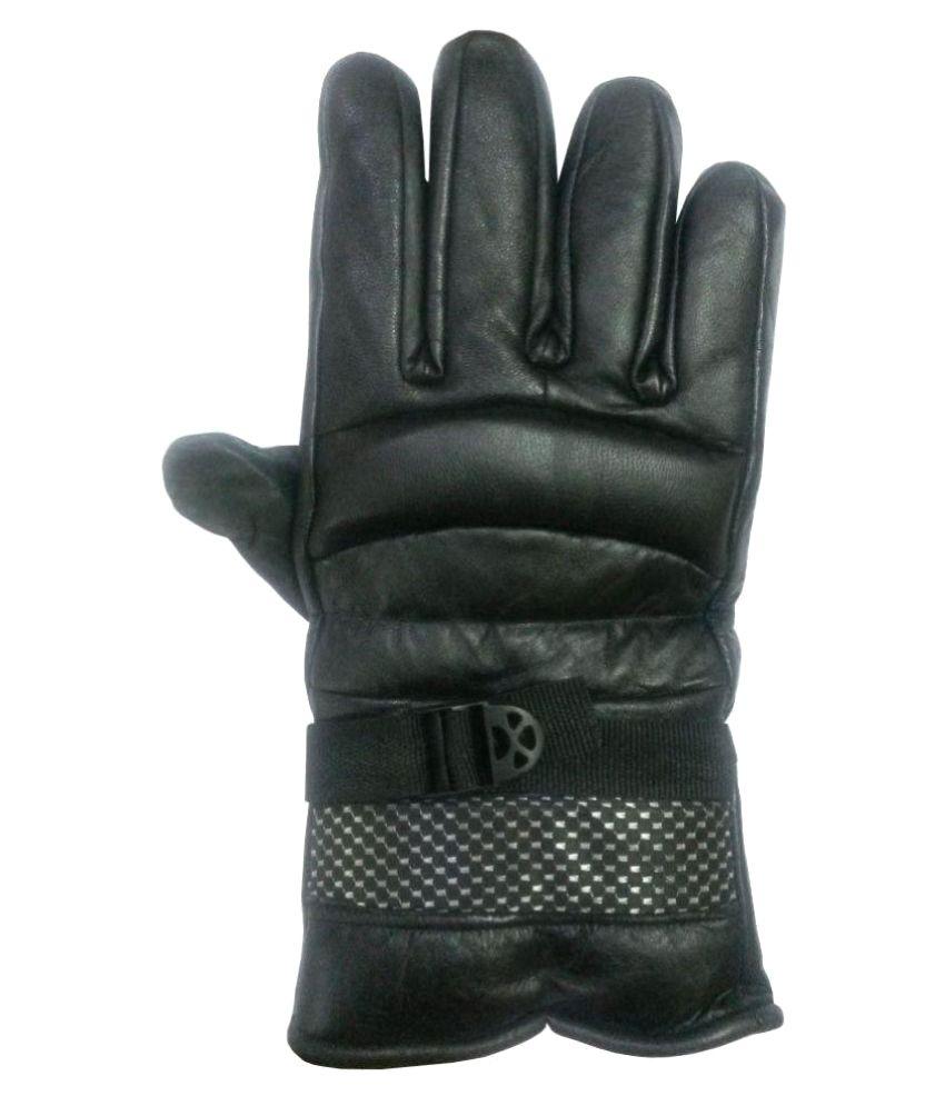 Buy leather hand gloves online india - Aadikart Black Synethtic Leather Hand Gloves Aadikart Black Synethtic Leather Hand Gloves