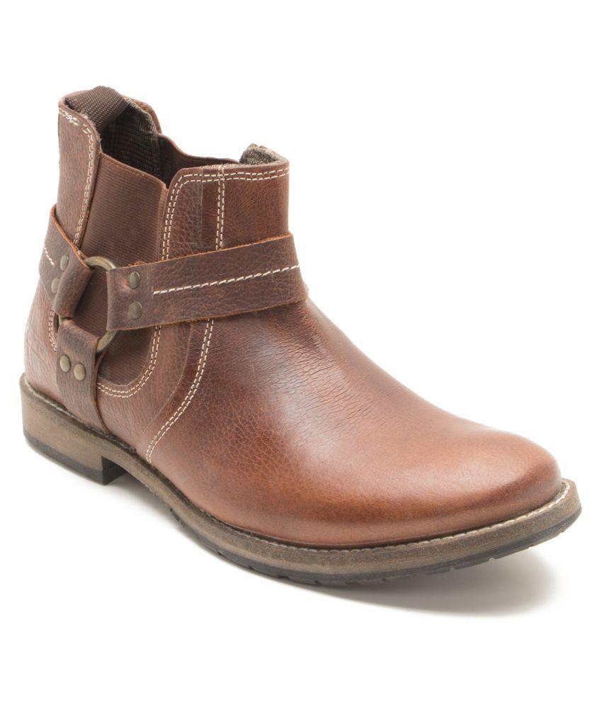Yezdi Brown Chelsea boot