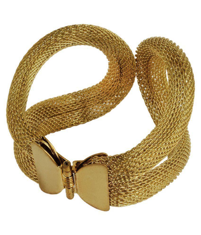 KRS Jewels Golden Copper Bracelet