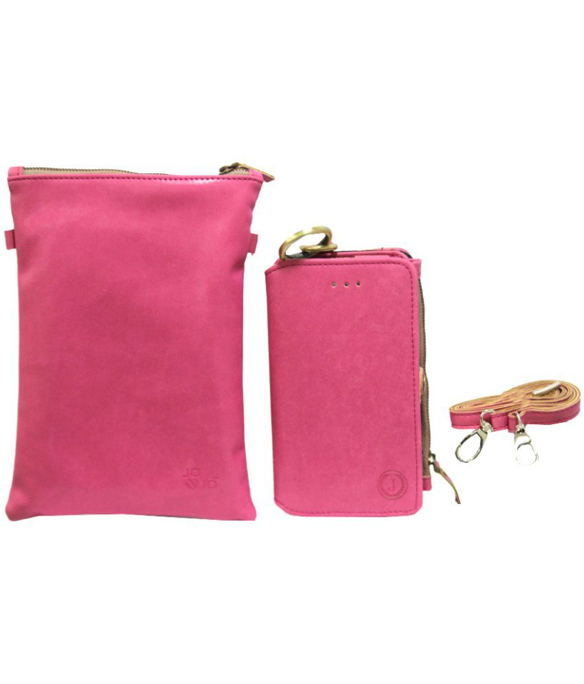 LG K10 LTE Holster Cover by Jojo - Pink