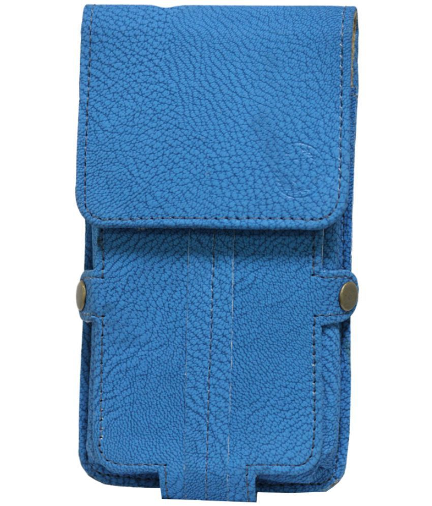 LG K4 Holster Cover by Jojo - Blue