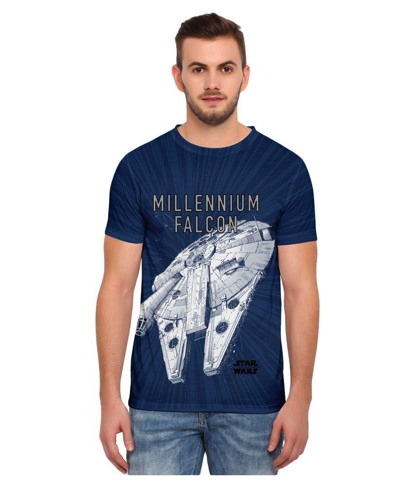 Star Wars Blue Round T-Shirt