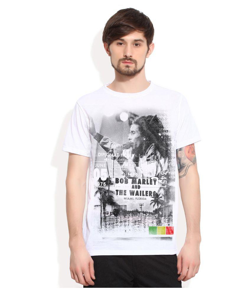 Universal Music White Round T-Shirt