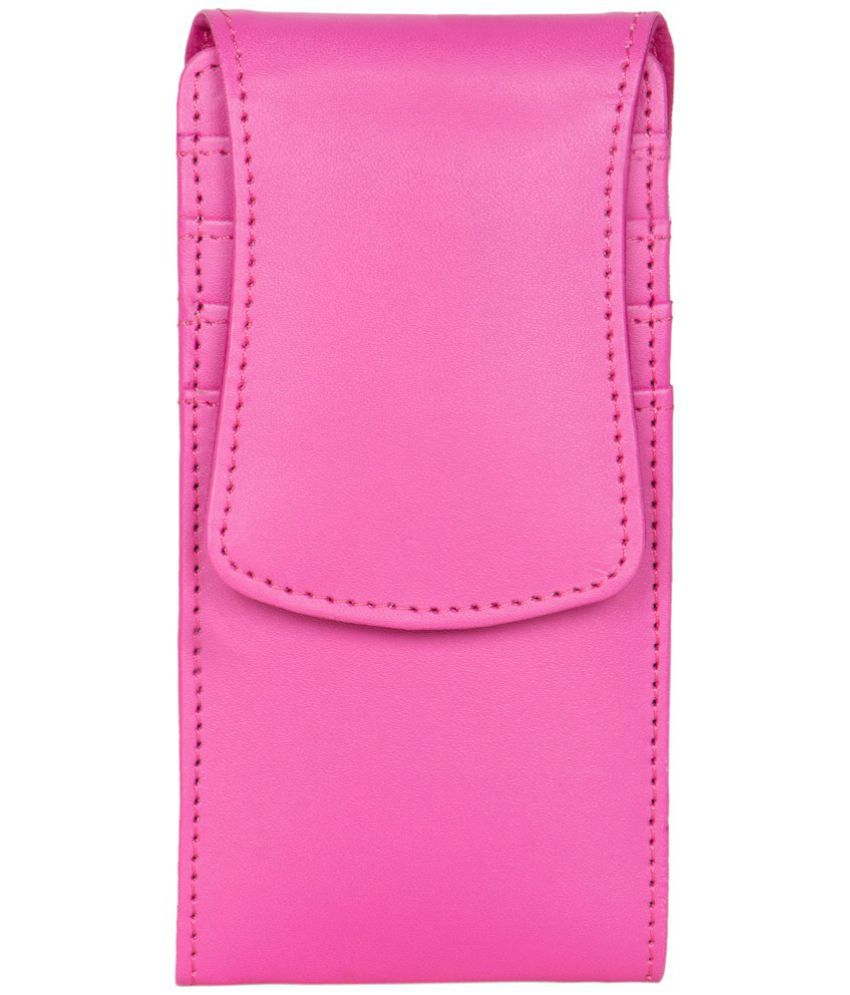 Micromax Canvas 2 A120 Holster Cover by Senzoni - Pink