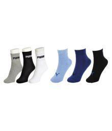 Puma Multi Casual Ankle Length Socks