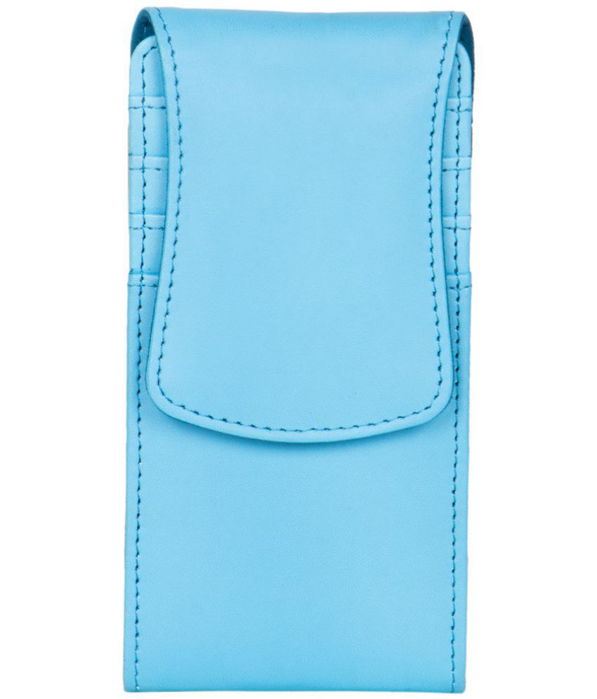 Videocon A48 Holster Cover by Senzoni - Blue