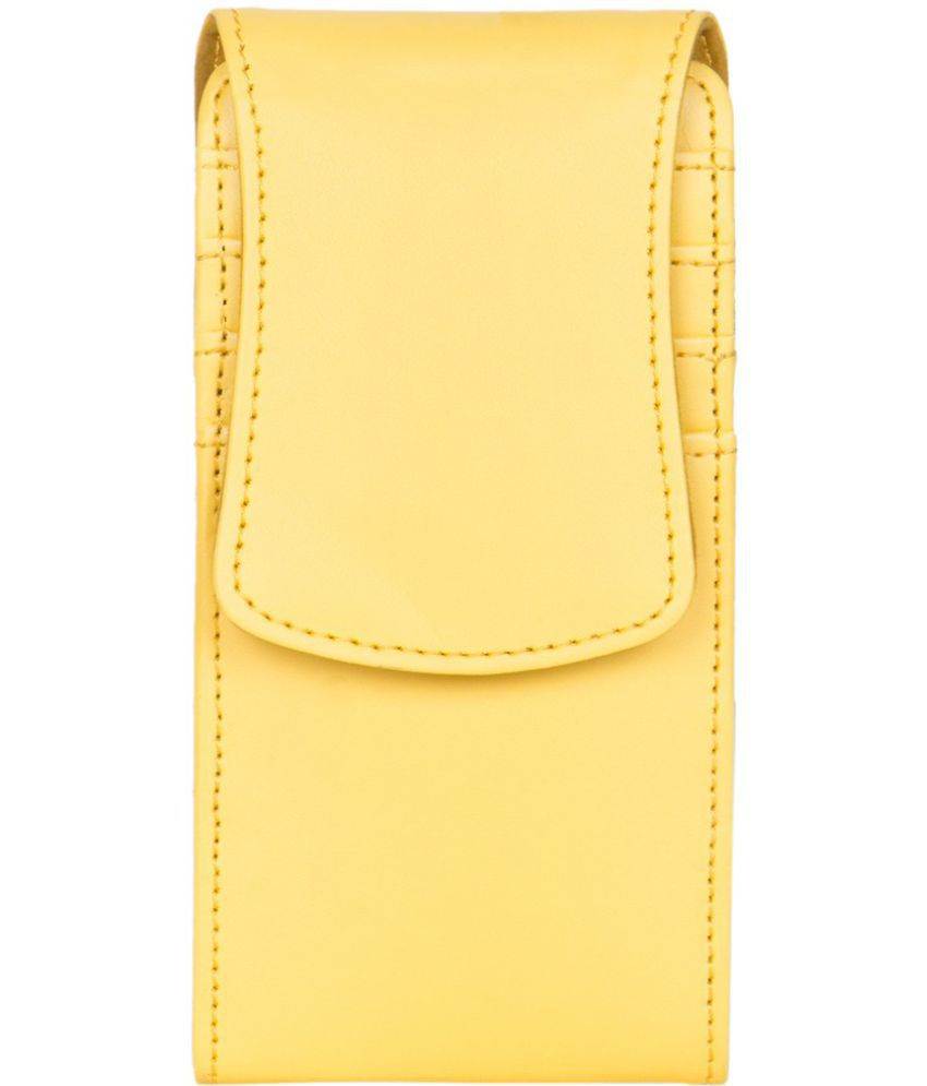 Karbonn K11+ Holster Cover by Senzoni - Yellow