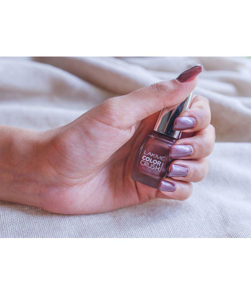 Lakme True Wear Color Crush Nail Lavender 37