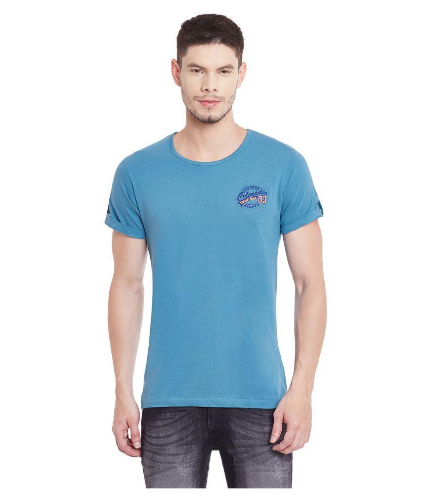 Yepme Blue Round T-Shirt
