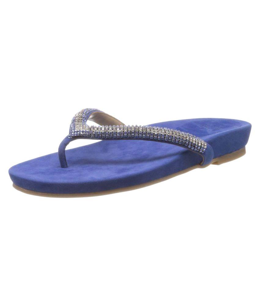 Saint G Blue Slippers