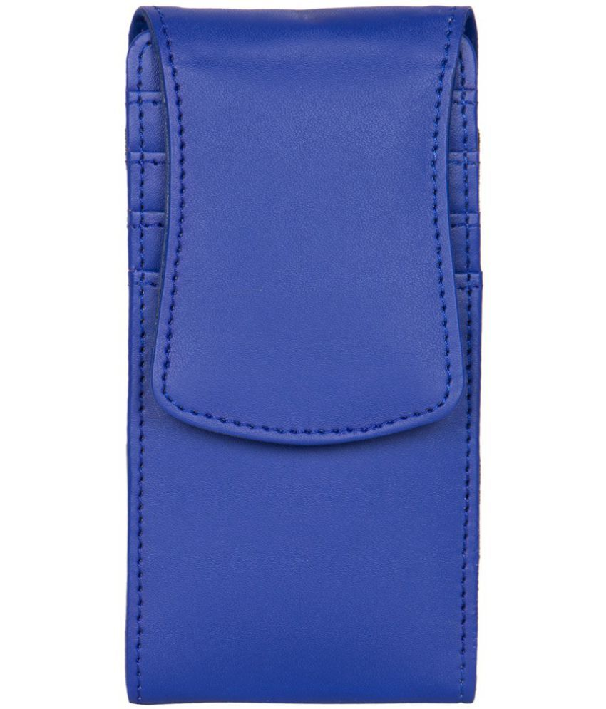Xolo Omega 5.5 Holster Cover by Senzoni - Blue