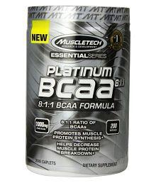 Muscletech 8:1:1 BCAA Formula,  200 Caplets 200 Gm Unflavoured