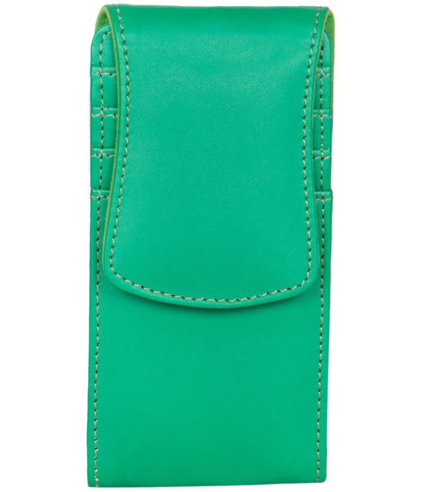 Nokia X2-02 Holster Cover by Senzoni - Green