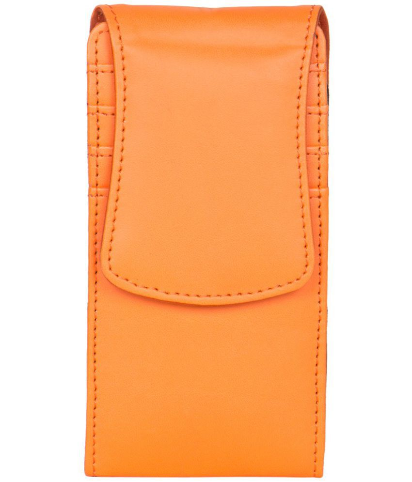 Intex Aqua Y2 Pro Holster Cover by Senzoni - Orange