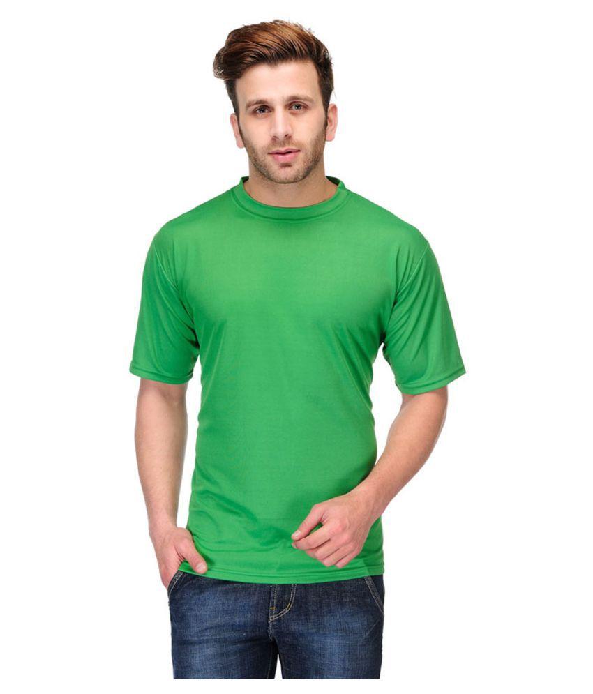 Trudam Green Round T-Shirt