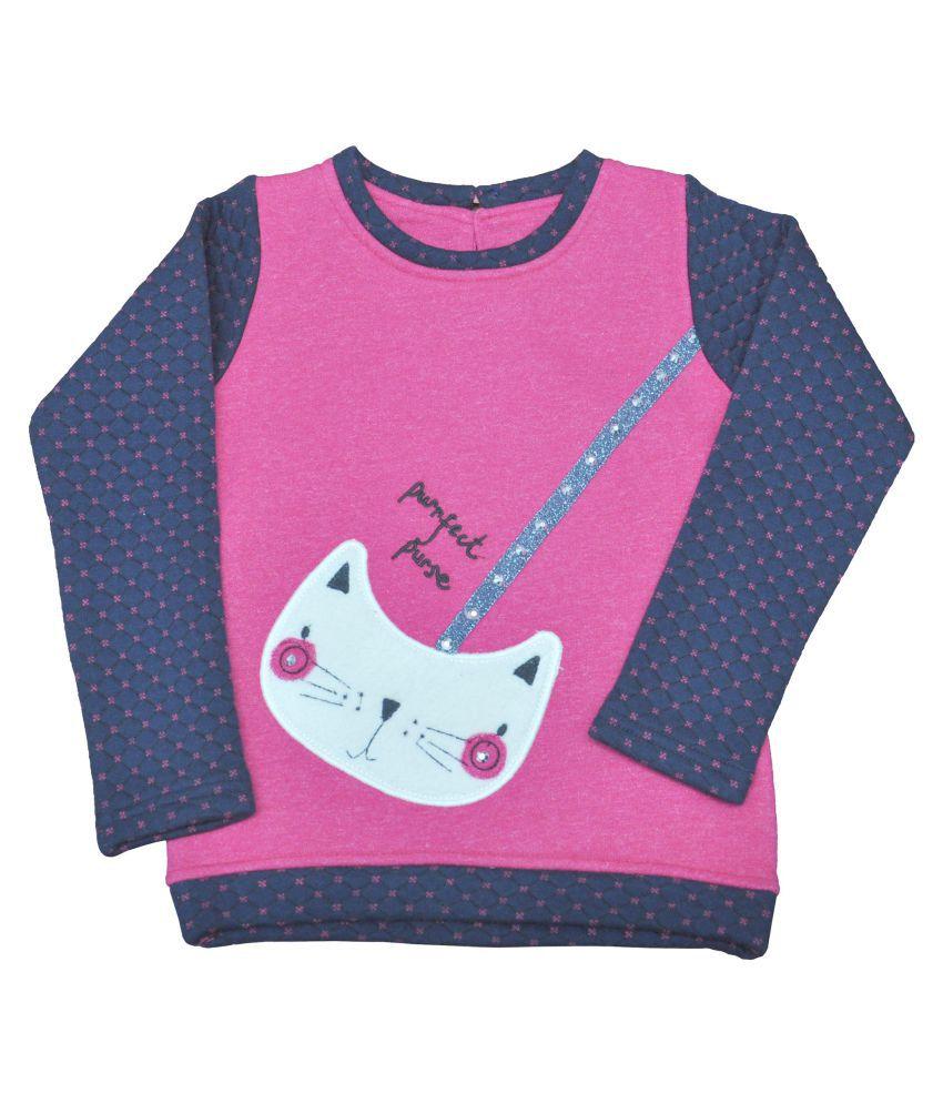 Ziama Pink Sweatshirts