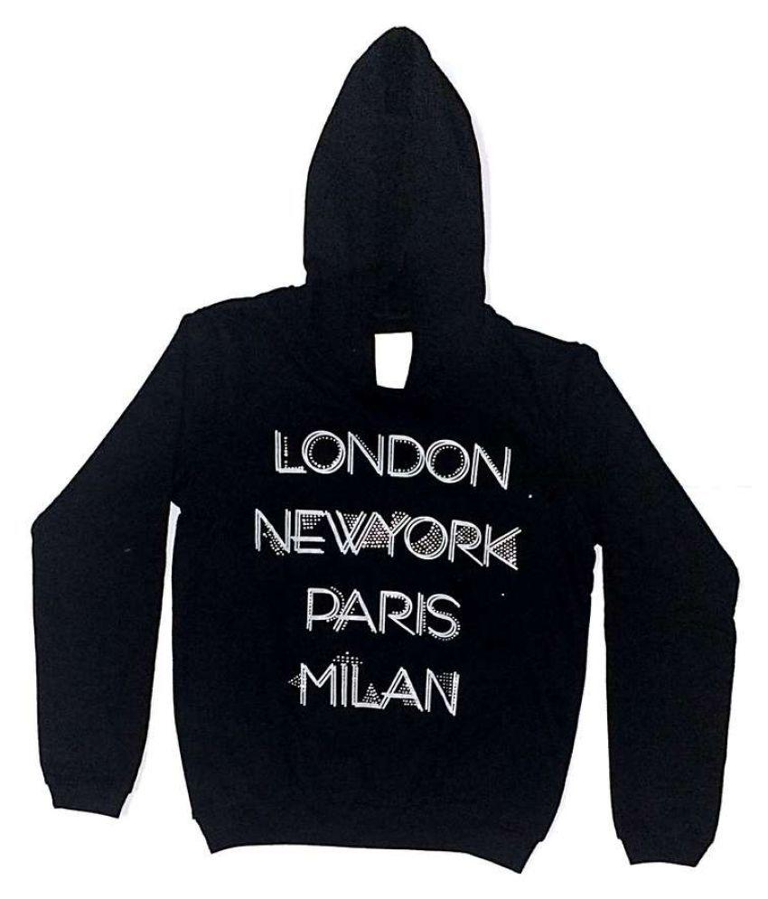 Cuddlezz Black Girls Sweatshirt