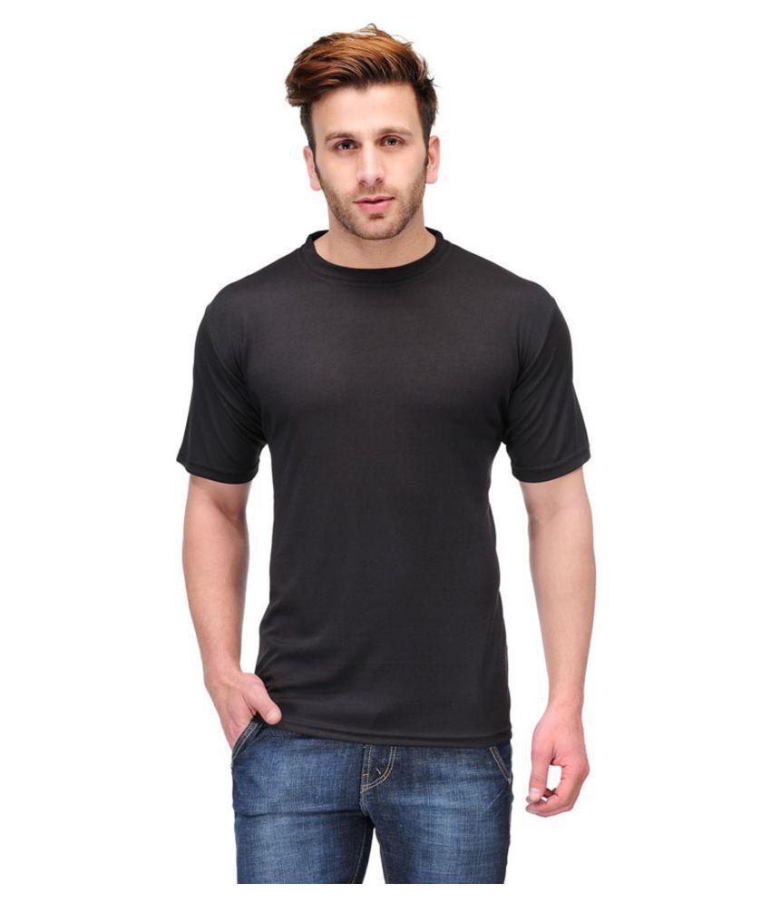 Trudam Black Round T-Shirt