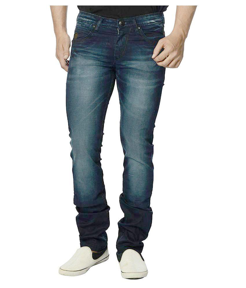 Eos Dark Blue Regular Fit Jeans