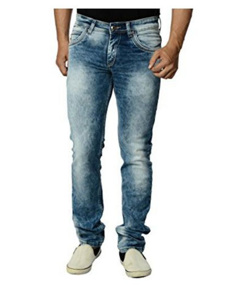 Eos Blue Regular Fit Jeans