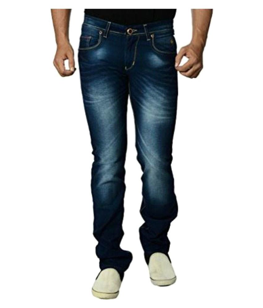 Eos Dark Blue Regular Fit Jeans