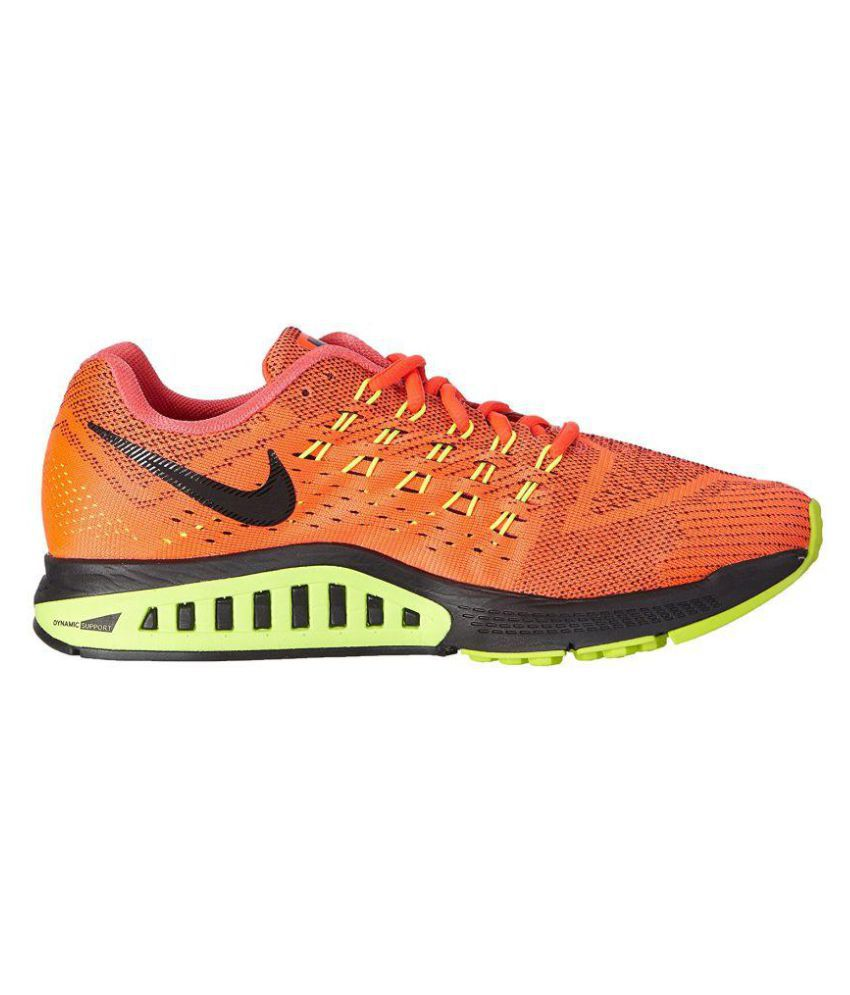 info for 857c4 72827 Nike Air Zoom Structure 18 Running Shoes Orange