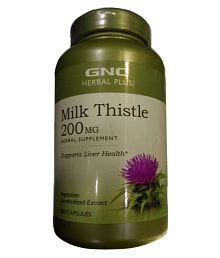 GNC Gnc Milk Thistle 200 Mg 200 Gm