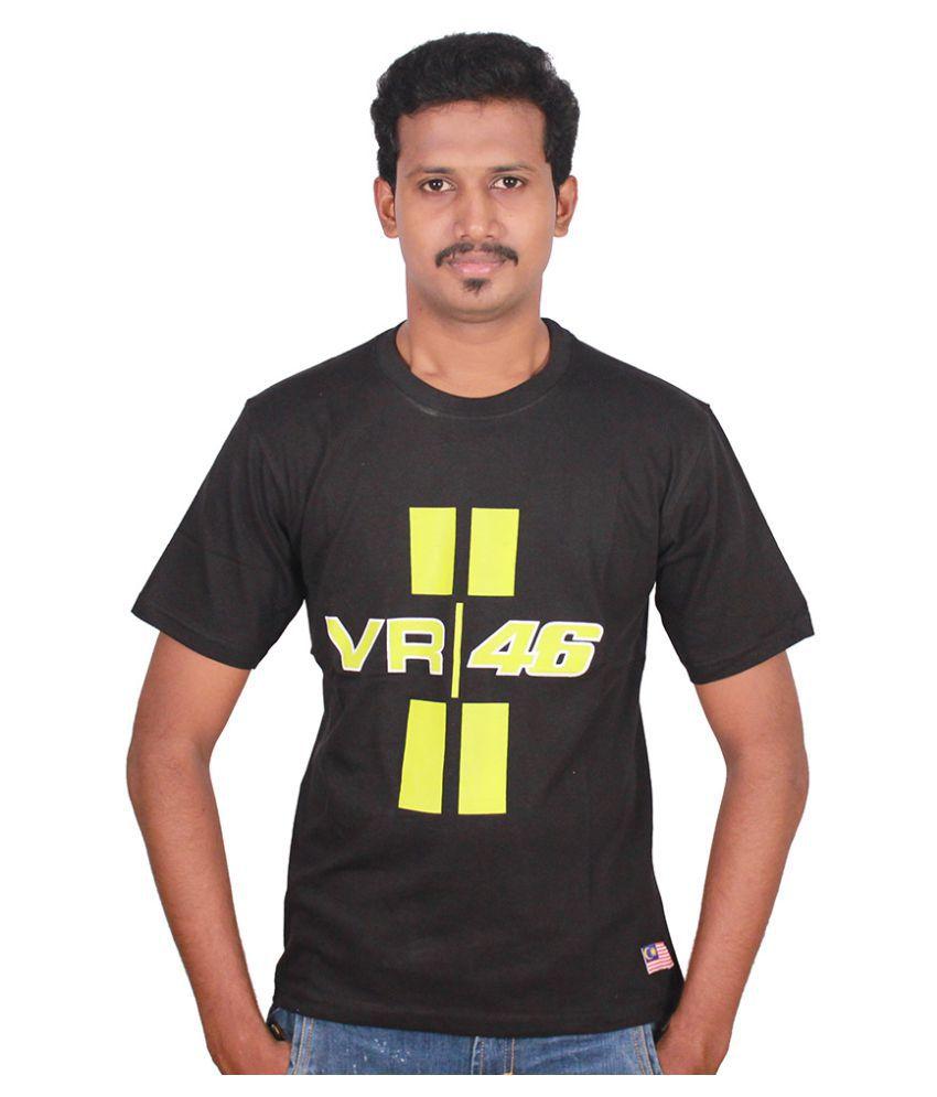 Steroid Black Round T-Shirt