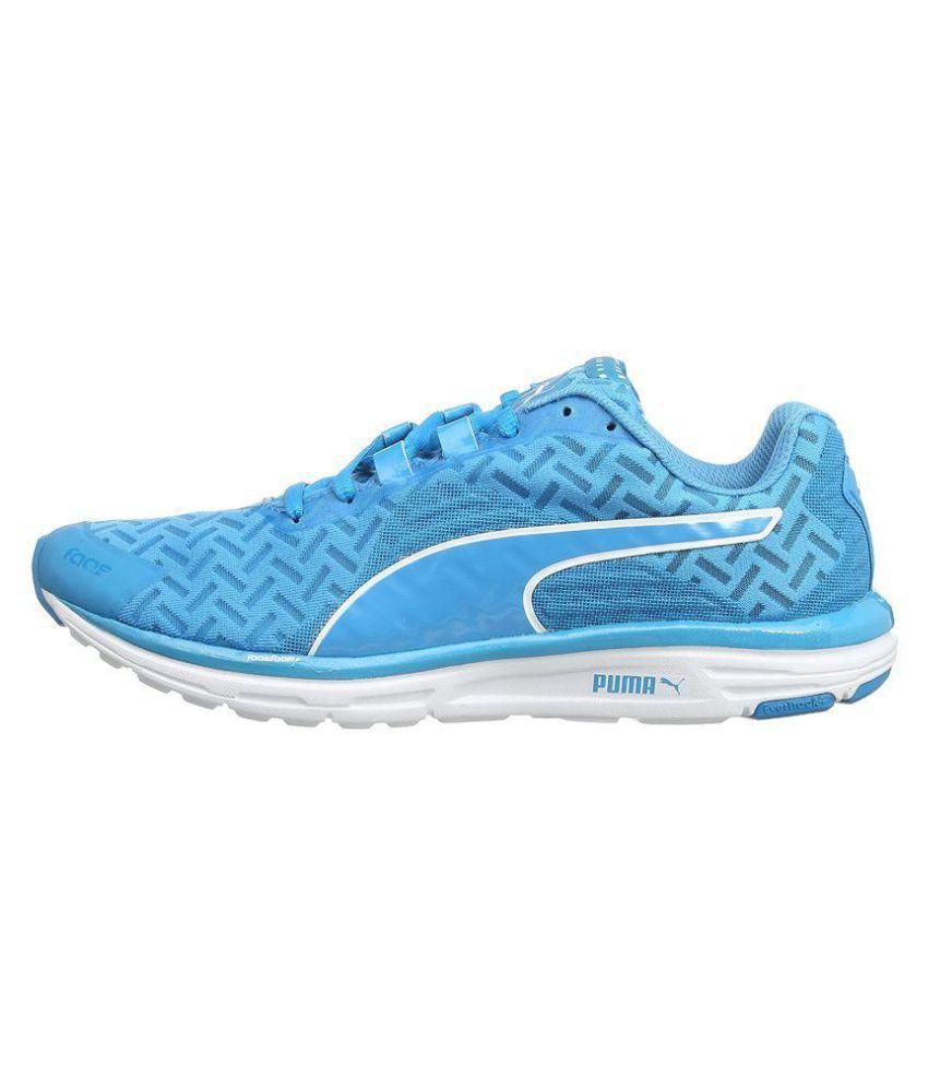 Puma Faas 500 V4 Pwrcool Blue Running Shoes Buy Puma Faas