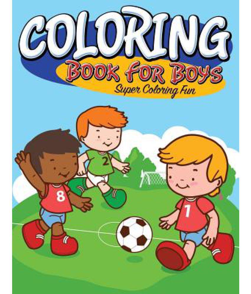 Coloring Book for Boys Super SDL 1 9445c