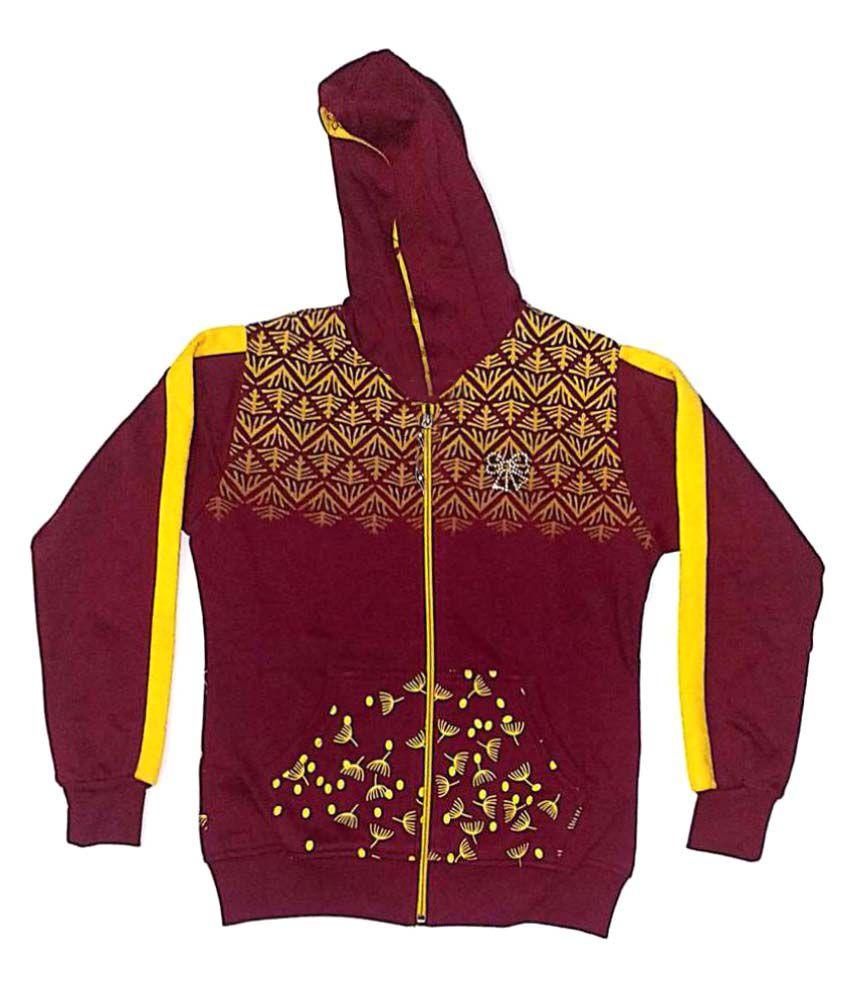 Cuddlezz Multicolored F Leece Sweatshirt
