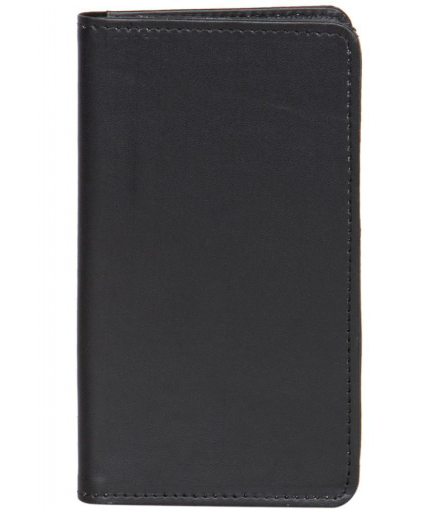 Celkon Campus mini A350 Holster Cover by Senzoni - Black