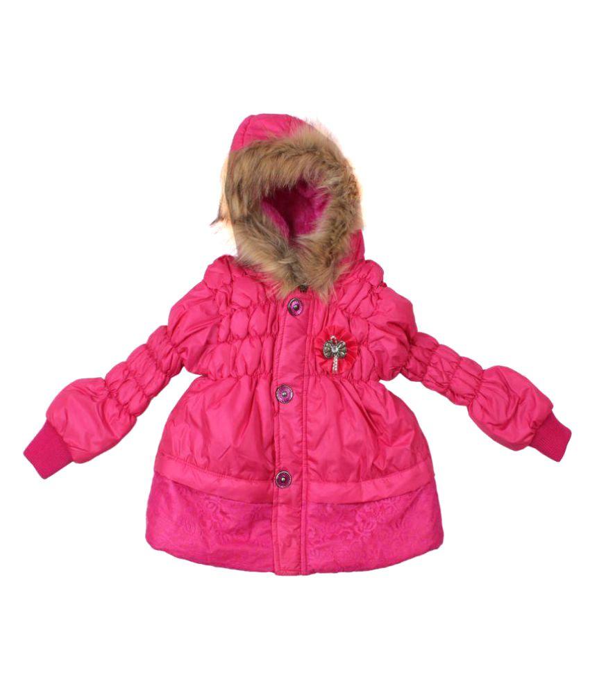 Greentree Pink Woollen Light Weight Jacket