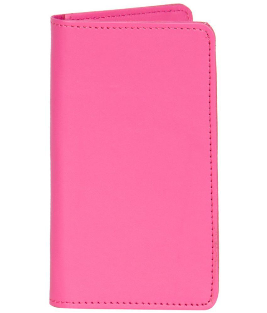 Celkon A119Q Holster Cover by Senzoni - Pink
