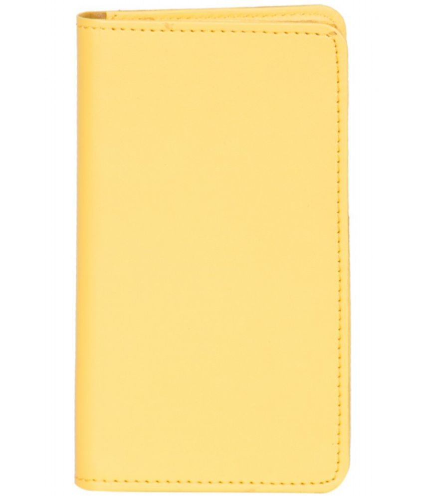 iBall Andi 5T Cobalt 2 Holster Cover by Senzoni - Yellow