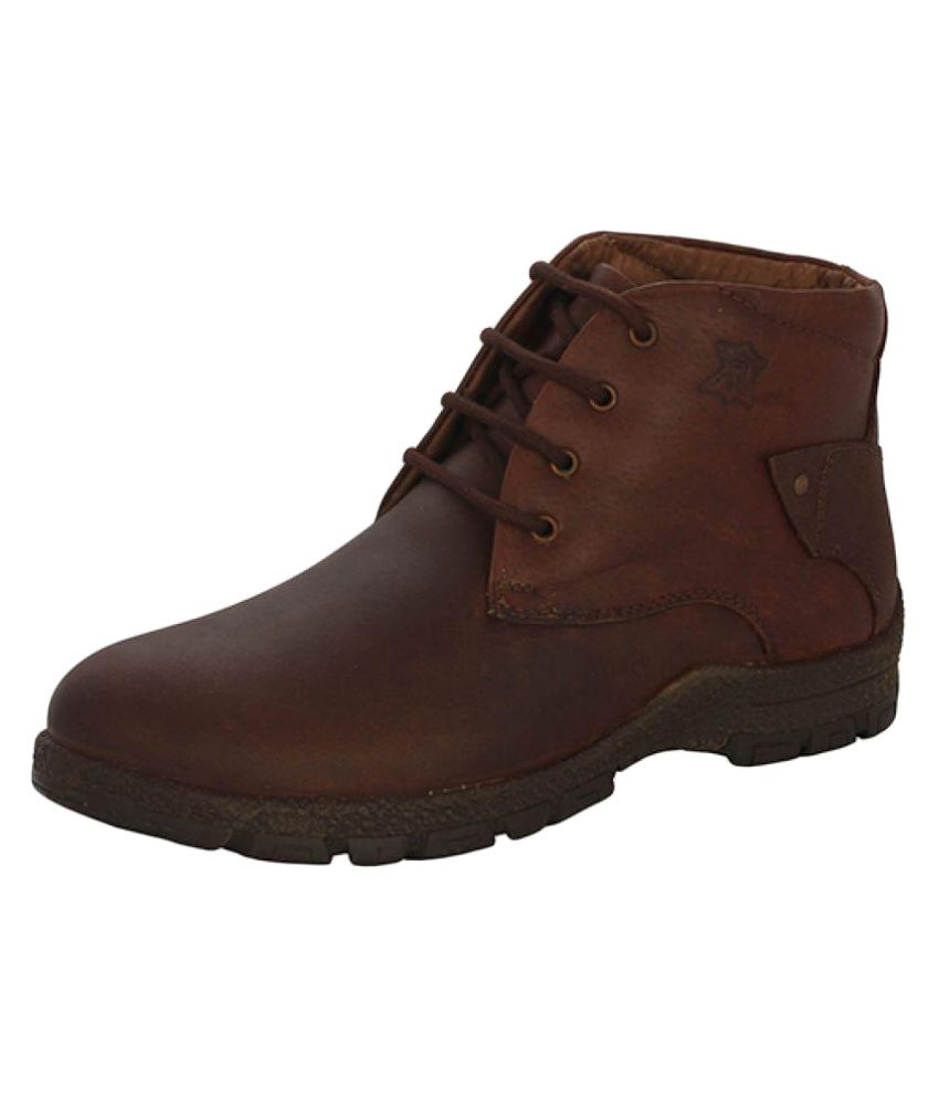JX Brown Chukka boot