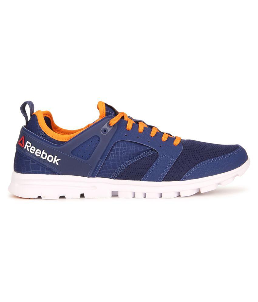 c720d5e6ab08 Reebok AMAZE RUN Blue Running Shoes Reebok AMAZE RUN Blue Running Shoes ...