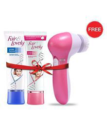 FREE JSB Face Massager With Fair & Lovely Winter Fairness Face Cream 80 G & Advanced Multi Vitamin Face Cream 80 G