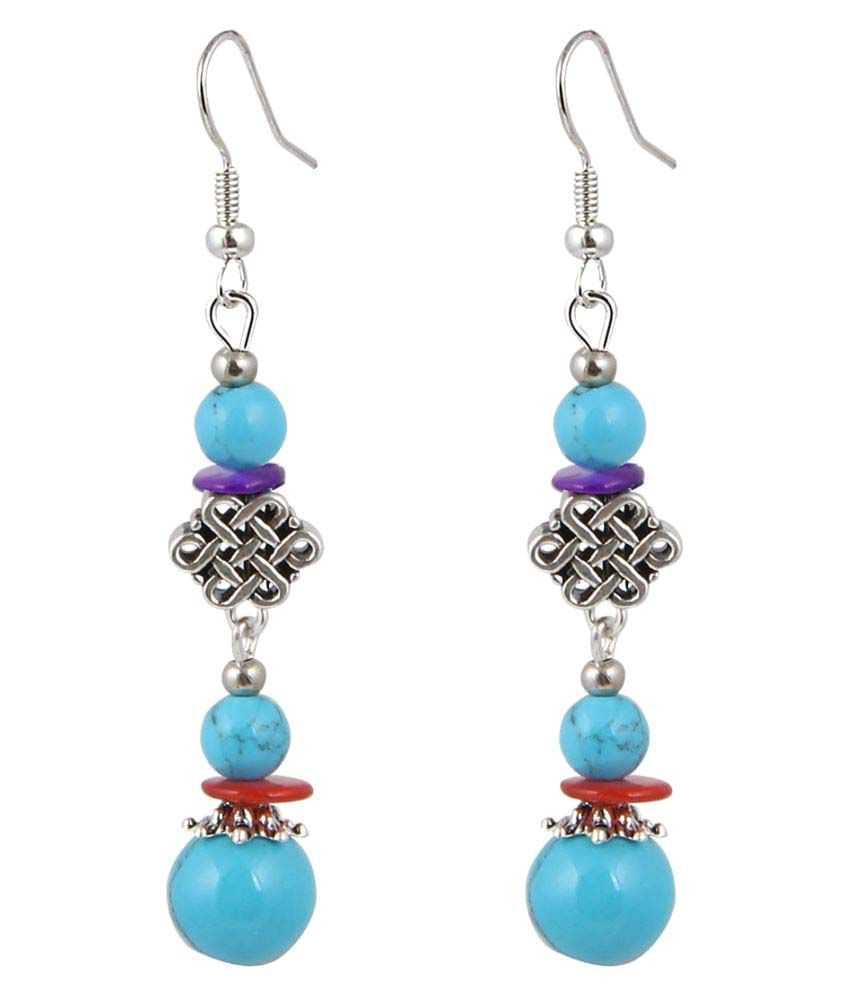 Jewelizer Multicolour Hanging Earrings