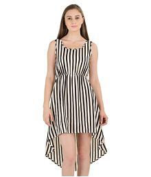 Sassy Stripes Georgette Dresses - 674867227910