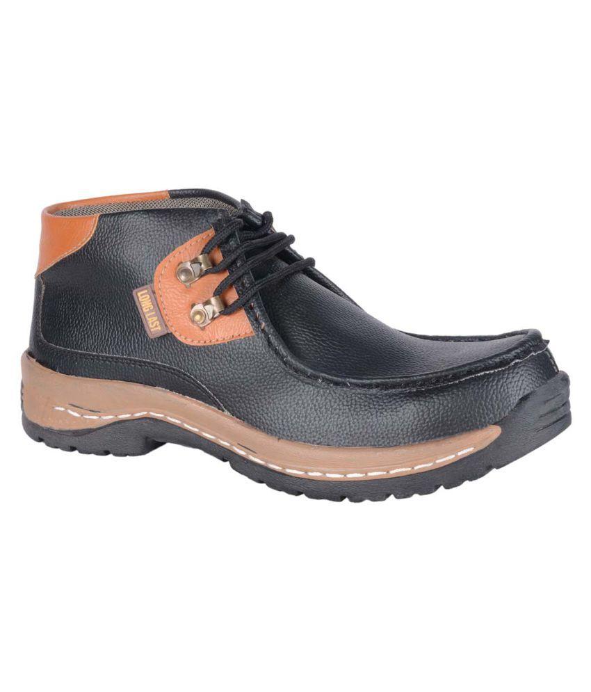 Ryko Black Casual Boot
