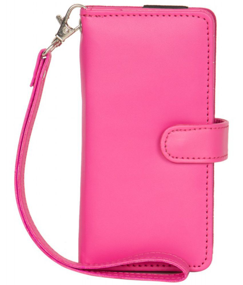 Karbonn Mobile K10+ Holster Cover by Senzoni - Pink
