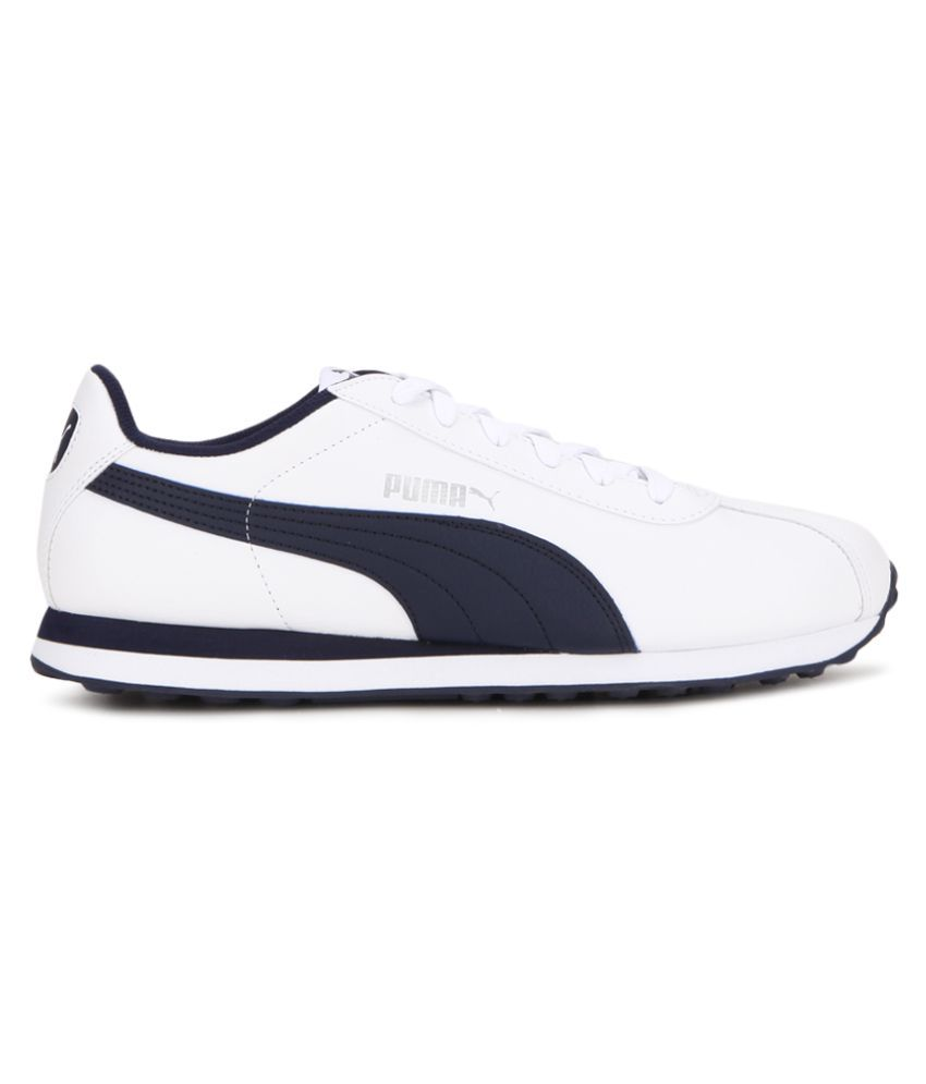 daad5919bddb98 Puma Turin White-Peacoat Sneakers White Casual Shoes - Buy Puma ...