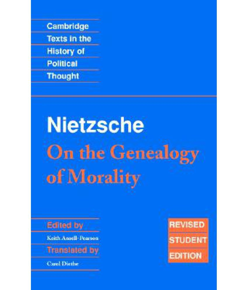 nietzsche on the genealogy of morals second essay summary
