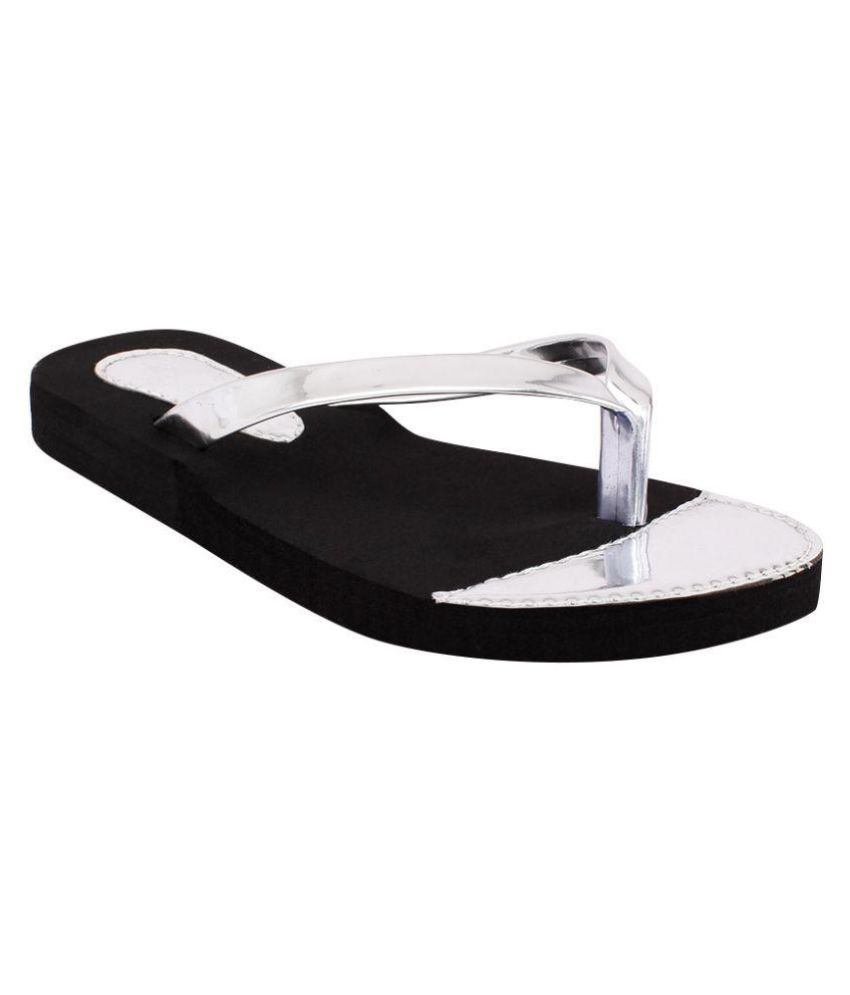 Fashion Victory Silver Slippers