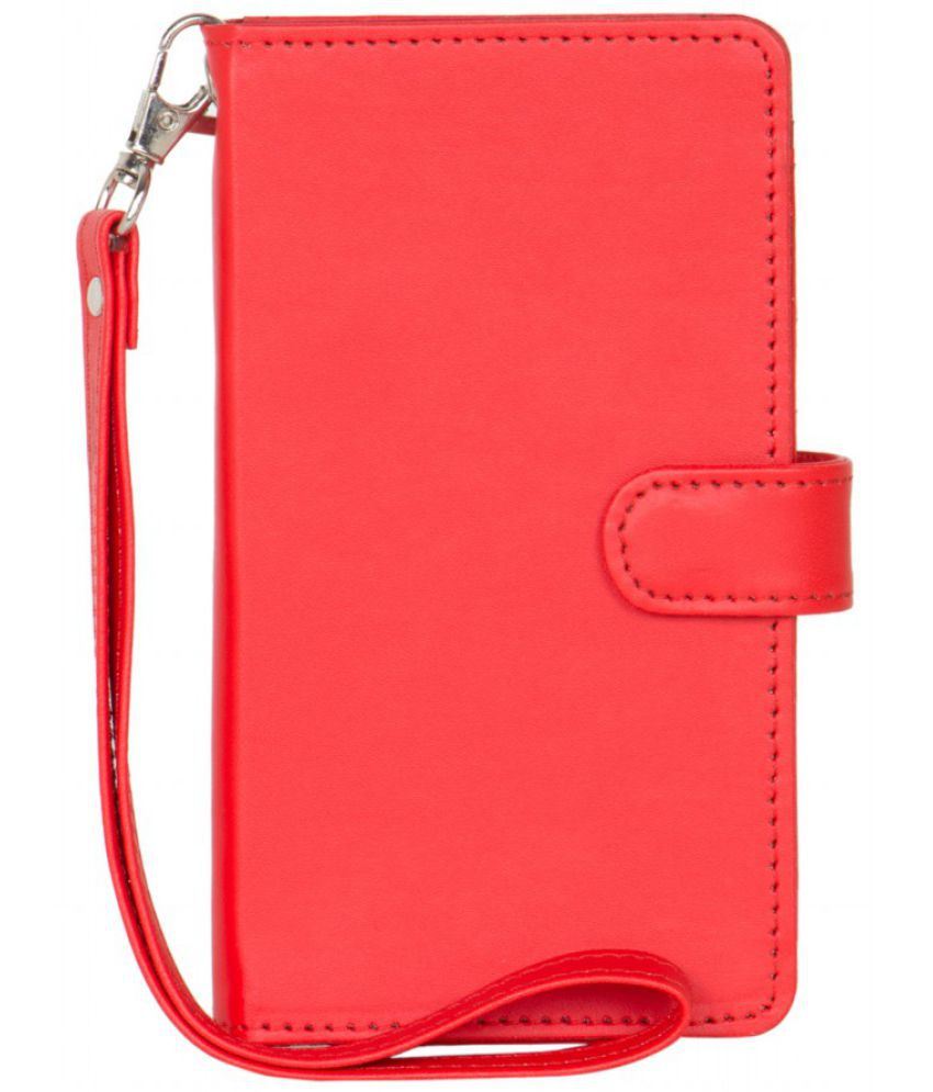 Lenovo A516 Holster Cover by Senzoni - Red